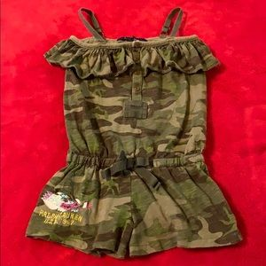 RL romper girls 4/4T